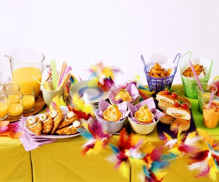 Kinderparty-Buffet