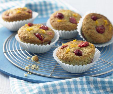 Kirsch-Orangen-Muffins