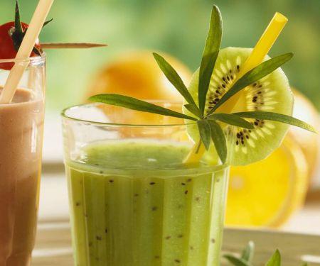 Kiwi-Gurken-Smoothie mit Estragon