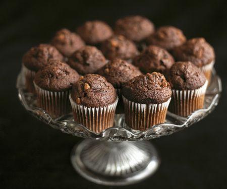 Kleine Schokoladenmuffins
