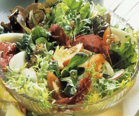 Knackiger Blattsalat