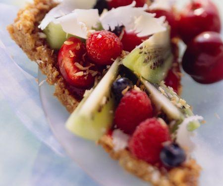 Knusper-Tarte mit Früchten