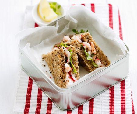 Krabben-Sandwich