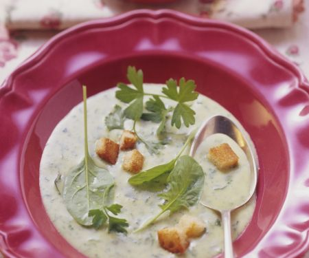 Kräuter-Gemüse-Suppe aus der Schweiz
