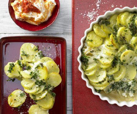Kräuter-Kartoffel-Tarte