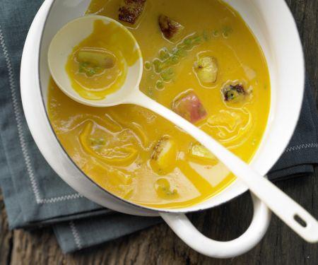 Kürbis-Möhren-Suppe – smarter