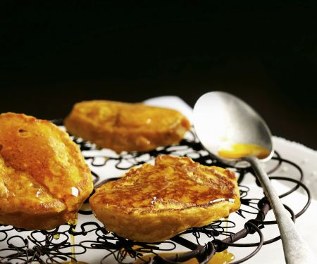 Kürbis-Pancakes mit Zimt