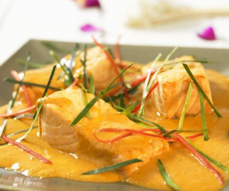 Rezept: Lachs in Currysauce