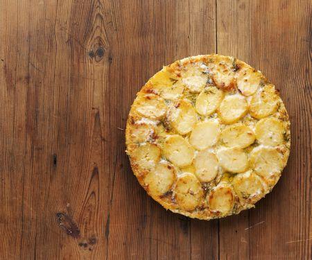 Lachs-Kartoffel-Gratin auf schwedische Art
