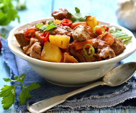 Lammfilets mit Kartoffelgemüse