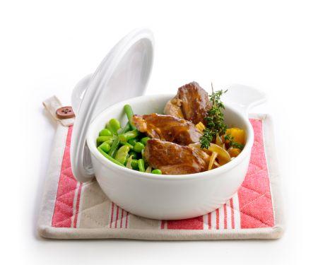 Lammgulasch mit Gemüse