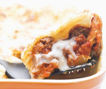 Lasagne mit Mozzarella