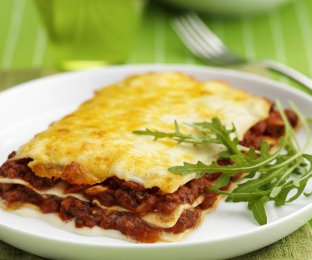 Lasagne mit Hackfleischsauce