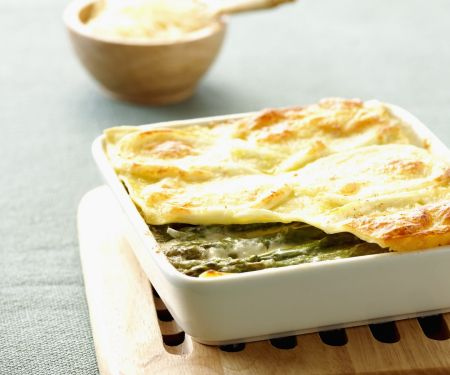 Lasagne mit Spargel