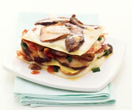 Lasagne mit Steinpilzen