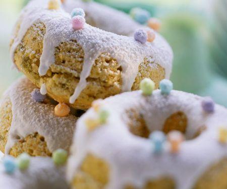 Lavendel-PistaziennPuppenkuchen