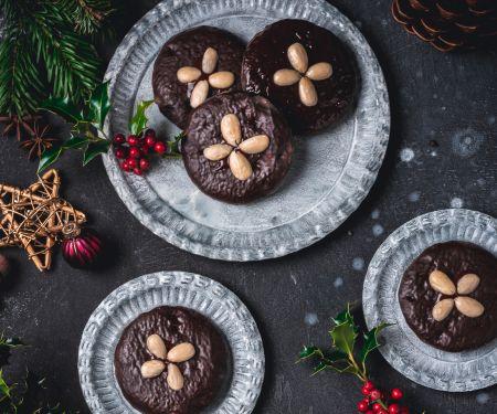 Lebkuchen mit Schokoladenguss
