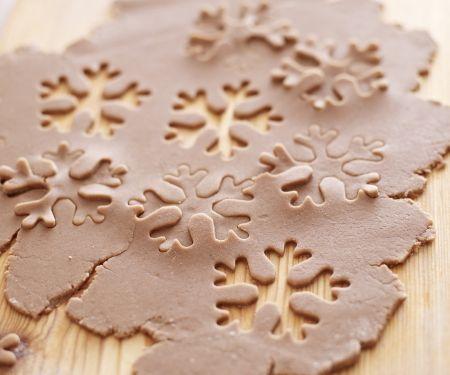Lebkuchen-Schneeflocken