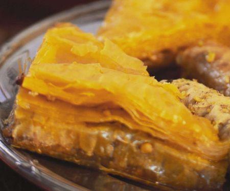 Libanesische Nussecken