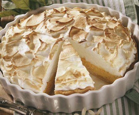 Limetten-Baiser-Kuchen (Key Lime Pie)