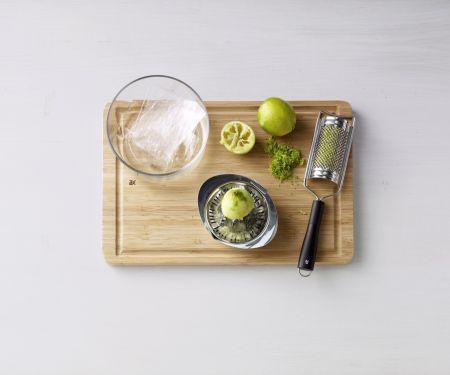 Limetten-Joghurt-Mousse