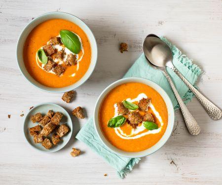 Linsen-Kartoffel-Suppe