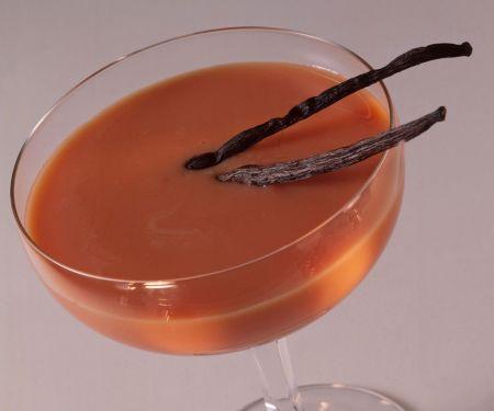 Mandelmilchshake mit Aprikose