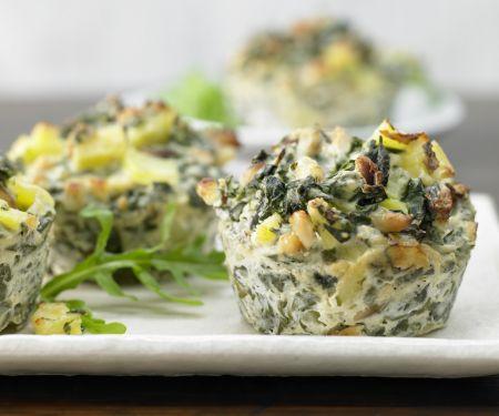 Mangold-Ricotta-Muffins