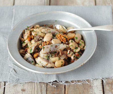 Matjes-Bohnensalat