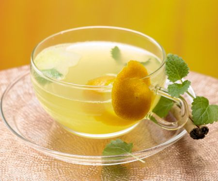 Melisse-Zimt-Tee