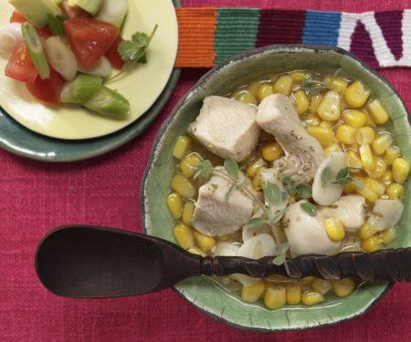 Mexikanische Limettensuppe