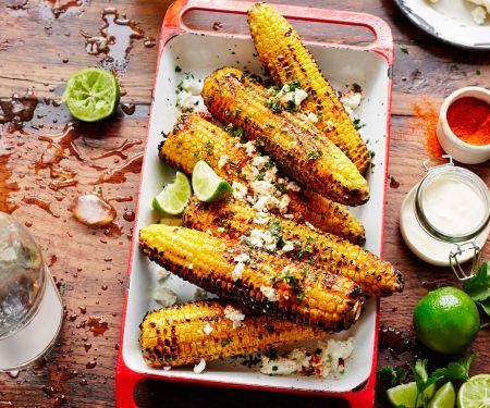 Mexikanische Maiskolben