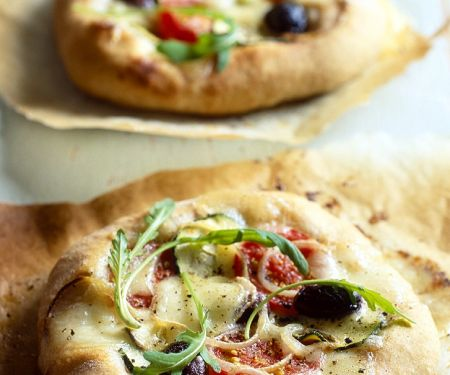 Mini-Pizzen mit Rucola