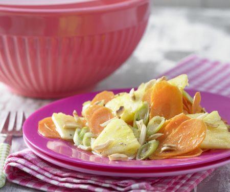 Möhren-Ananas-Salat