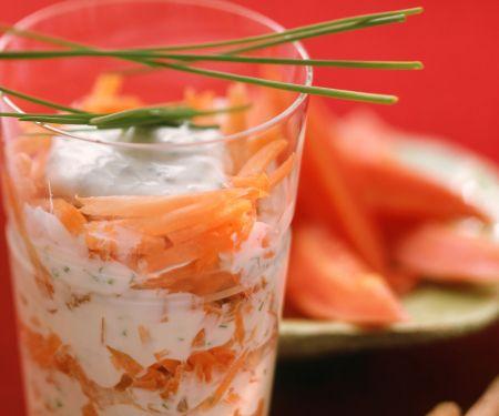 Möhren-Joghurt-Rohkost