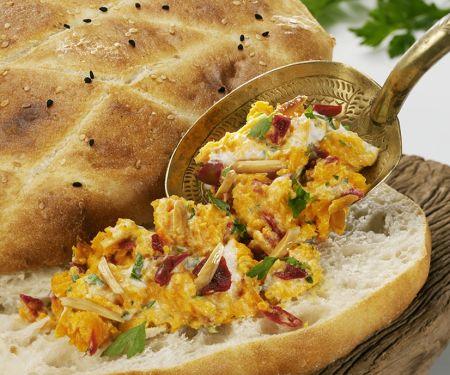 Möhrengemüse mit Brot