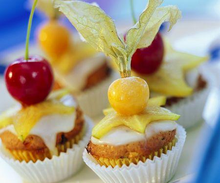 Muffins mit Früchten