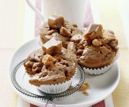 Muffins mit Karamell