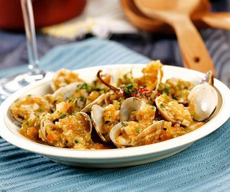 Muscheln mit Gemüse