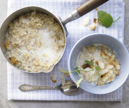 Naturreis-Porridge