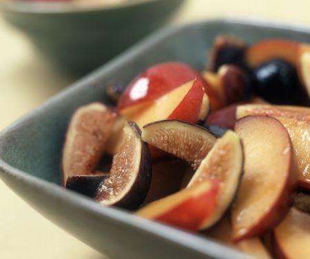 Nektarinen-Feigen-Salat