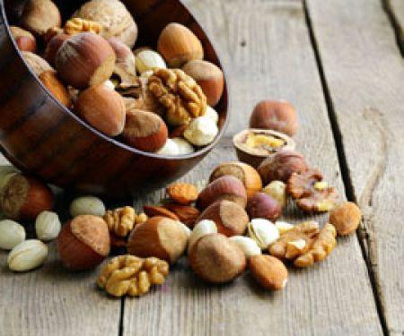 Nüsse sind ein Veggie-Superfood