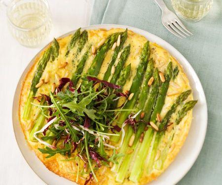 Omelette vom Spargel