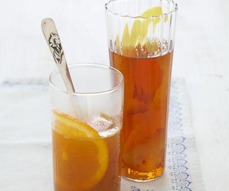 Orangen-Rum-Tee