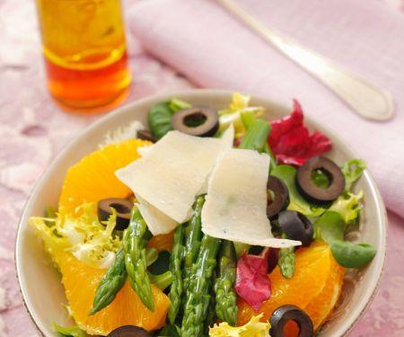 Orangen-Spargelsalat