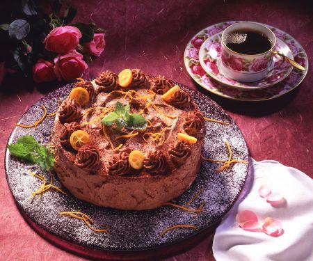 Orangen-Trüffel-Torte
