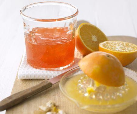 Orangengelee mit Campari