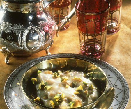 Orientalische Rosencreme