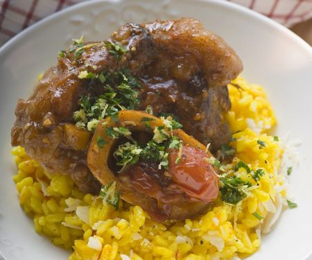Osso Buco mit Rosotto