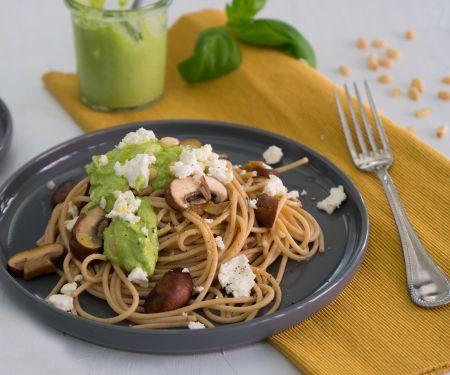Pasta mit Brokkoli-Pesto